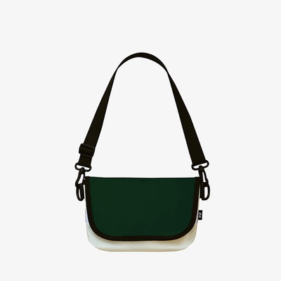 20% SALE / Flap ActiveBag-2Tone Green