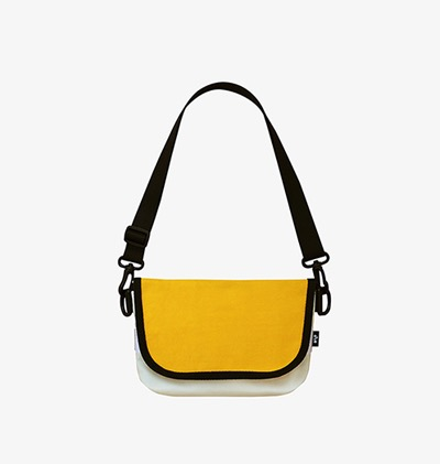 20% SALE / Flap ActiveBag-2Tone Yellow
