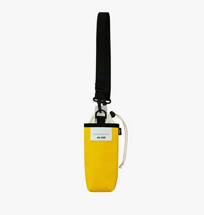 20% SALE / Bottle bag-Yellow